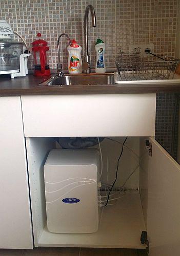 PurePro M 800 DF tartály nélküli, átfolyós ozmózis víztisztító