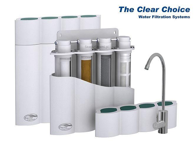Aquafilte rExcito Wave víztisztító berendezés, konyhai mosogató pultba építhető