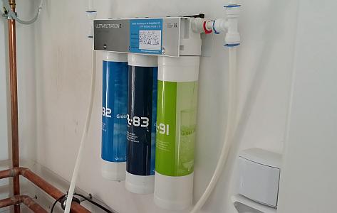Puricom FtLine3 aktívszenes víztisztító berendezés